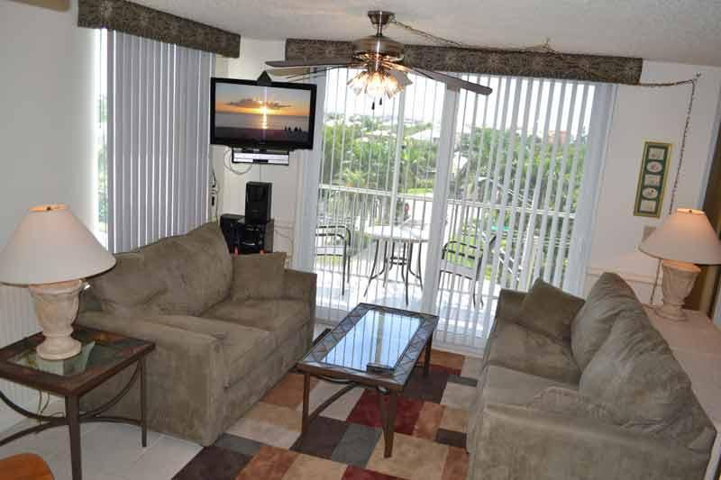 Living Room with Love Seat and Sleeper Sofa
