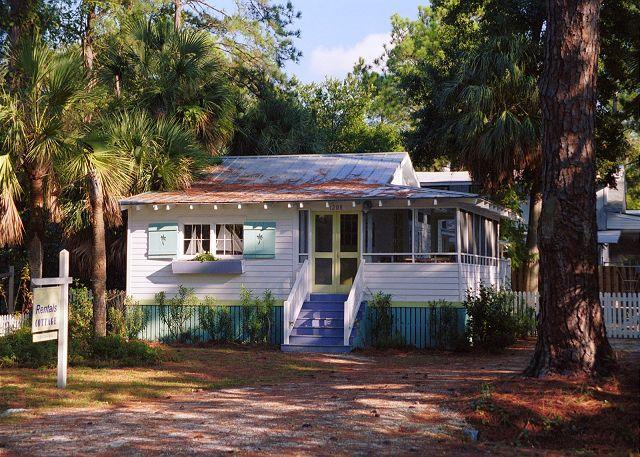 1208 Second Avenue/Palm Cottage - Image 1 - Tybee Island - rentals