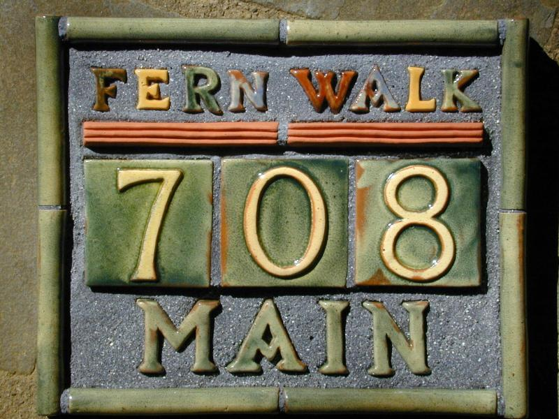 Fernwalk Cottage  - Look for the 'Mercer Tile' Sign