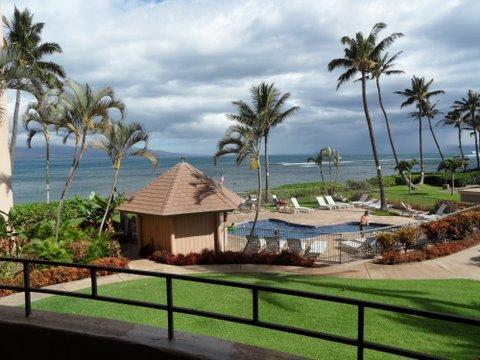 Great view from lanai and living room