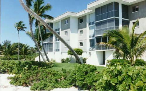 Island Beach Club from beach - 2 bedroom condo on  famous  shelling beach - Sanibel Island - rentals