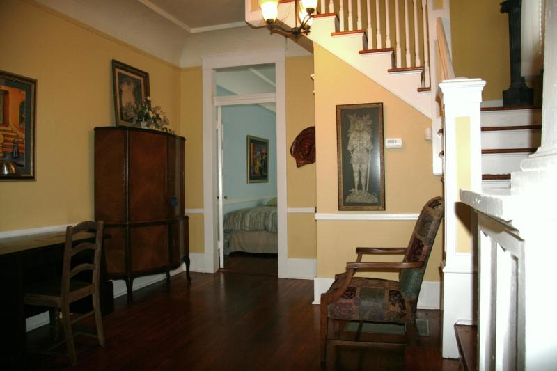 Central Stairway Off Large Living Area