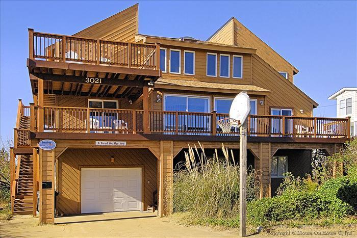 The magestic Pearl By The Sea...is a Sandbridge landmark and very popular vacation rental here!