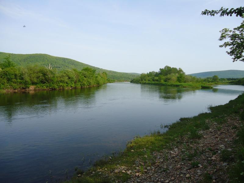 Margaree River (across the street from the cottages)