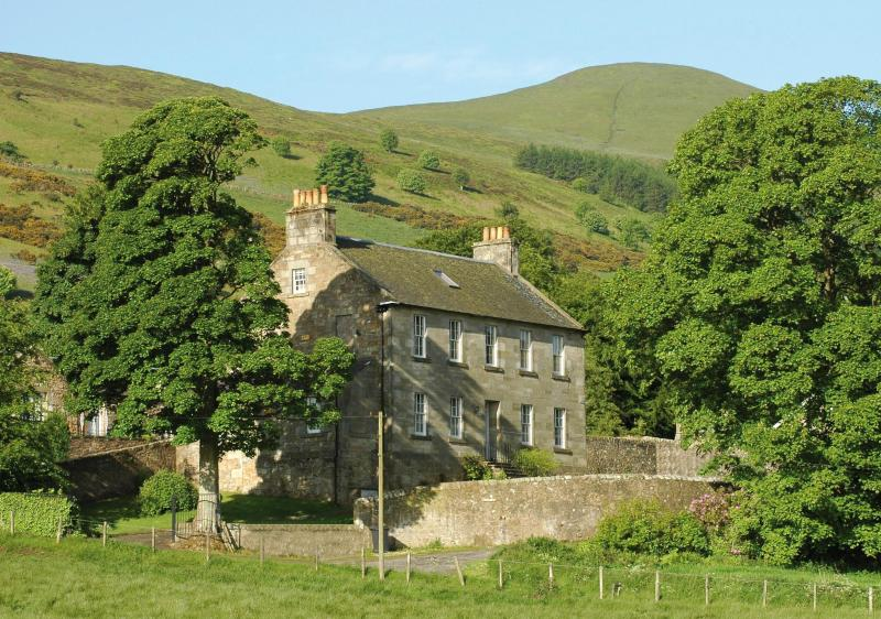 Ladywell House from the north - Ladywell House - Falkland - rentals