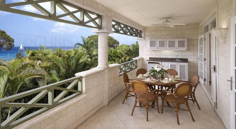 Unit 103 - Patio - Summerland Villas, Barbados, Unit 103, 3 Bdrm - Prospect - rentals