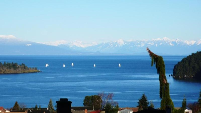 View of the Channel and Coastal Mountains from the property