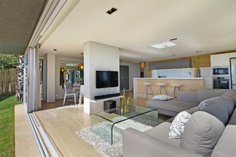 view into living area