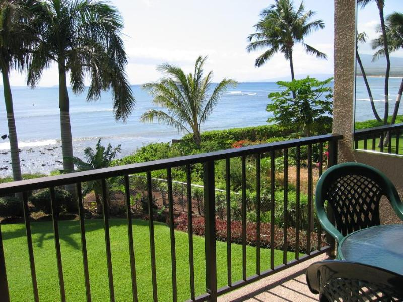 View off Lanai of 'Freight Train' Famous Surfing Spot on Maui