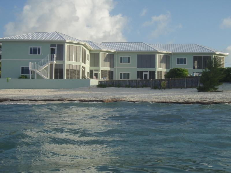 Back of Condo view from in the ocean