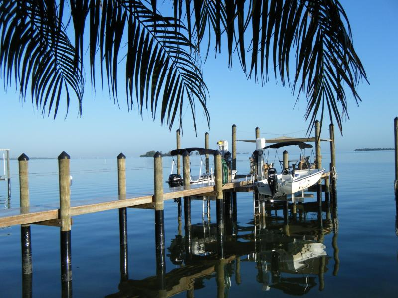 View of the Gulf View's Personal Dock