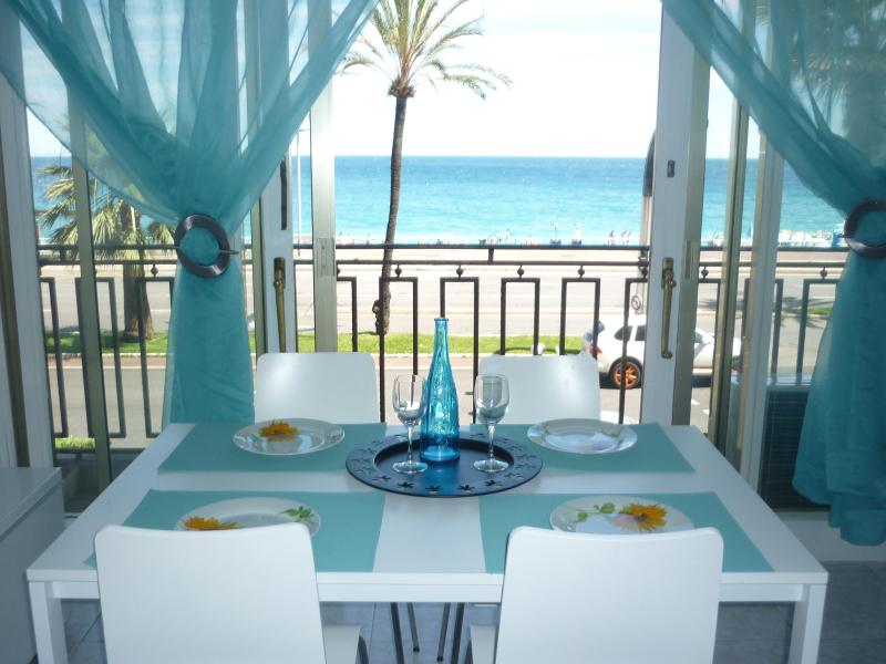 Amazing seaview from the dining room