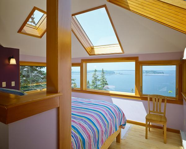 from the bed there is unbelievable 180 degree view, feels like your on the bow of a ship -scenery !! - Oceanfront Gem, Private, Romantic Rural Retreat - Addison - rentals