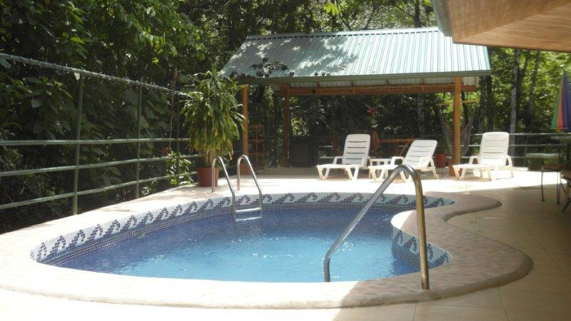 Pool, Rancho, BBQ, Stereo - Home away from Home in the Jungle 3 Bed / 2 Bath - Manuel Antonio - rentals