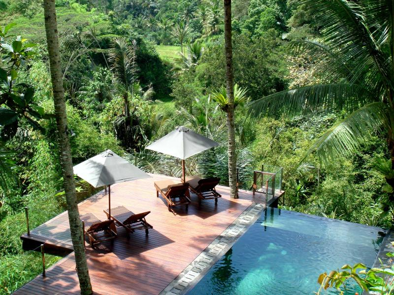 Secluded and private location - Villa Kalisha  - Perfect Romantic/Family Escape - Ubud - rentals