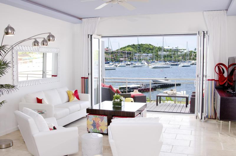 View from Living Room to marina