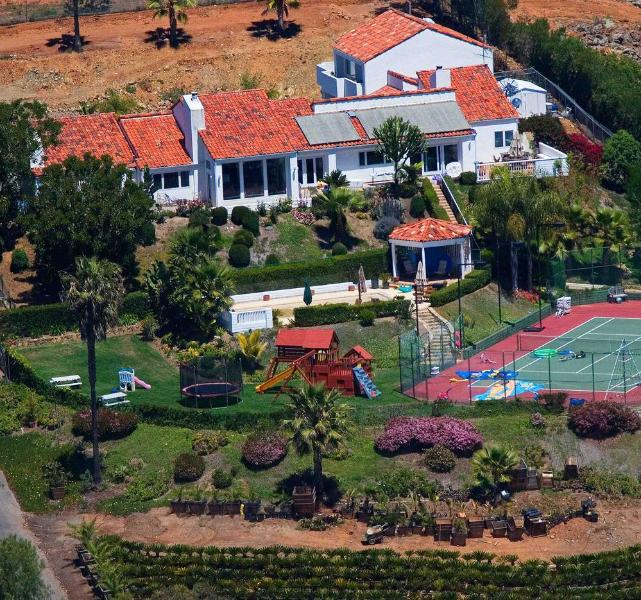 Gated playground estate on secluded hilltop