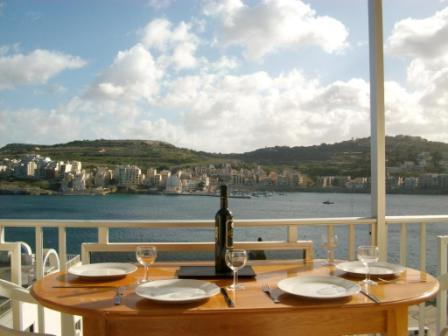 View from the Terrace of all the Bay!
