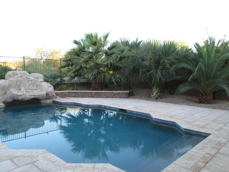 Backyard with Pool - Facing Golf Course