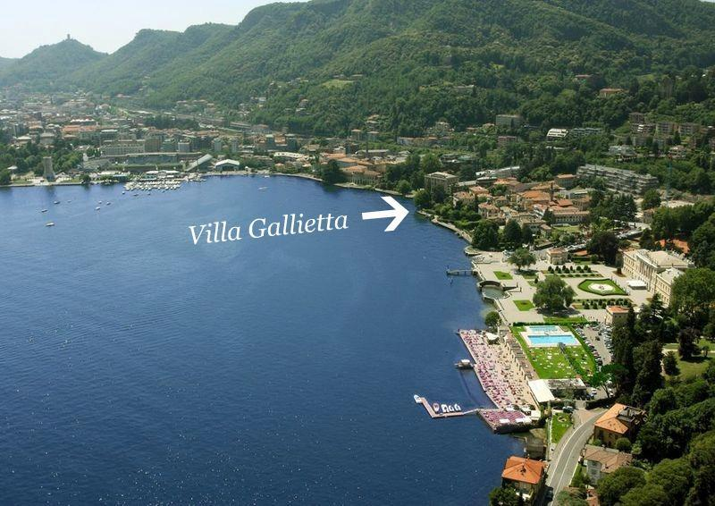 Our location Lakefront (1Km from Como center!)