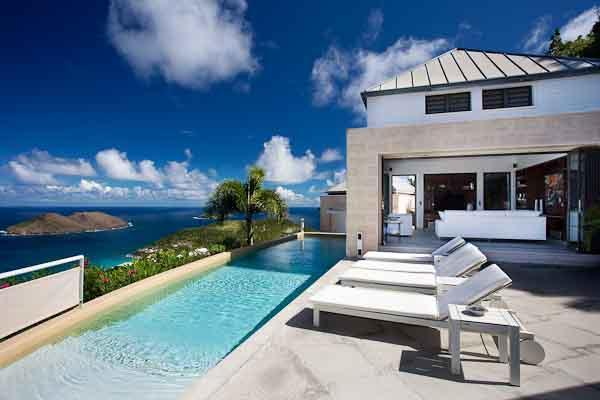 Pool Terrace & main salon - Villa Donato, Exquisite Villa,  Fabulous Views - Colombier - rentals