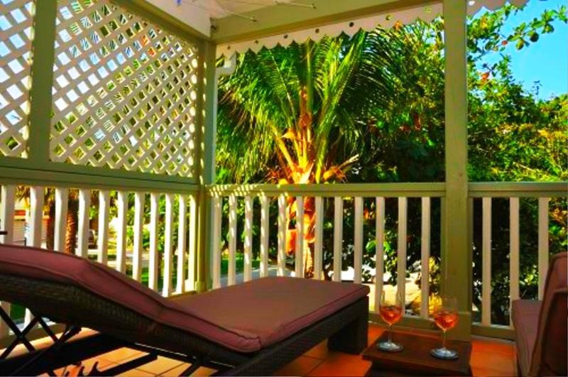 Ti Bo Palm d'Orient, St Martin 1BR rental; - TI BO - PALM D'ORIENT... affordable, cozy, tropical escape in Orient Bay - Orient Bay - rentals