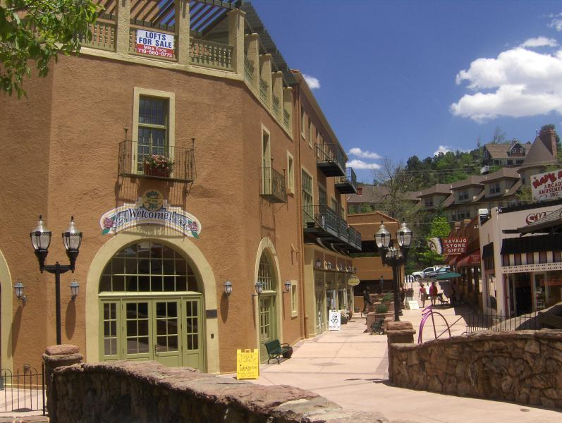 Historic Manitou Springs Spa Building