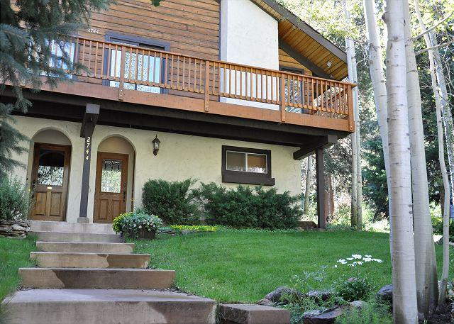 Exterior of 2744 Bassingdale - 2744 Basingdale - Duplex in West Vail - Vail - rentals