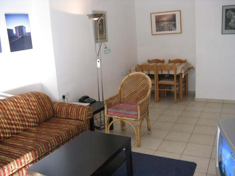 living room with pull out bed - 2 bedroom Holiday apartment, City center Jerusalem - Jerusalem - rentals