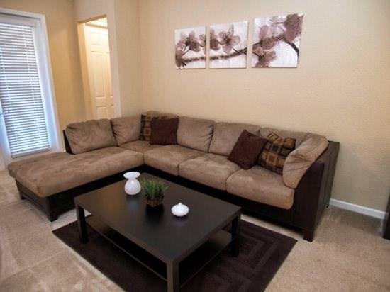 Living Area - VC2C4840CD-101 Amazing 2BR Condo 8 Miles from Disney - Orlando - rentals