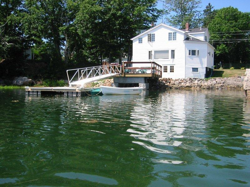 Waterfront House With Private Dock and Kayaks