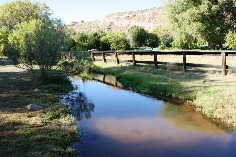 Mason Creek next to Corral