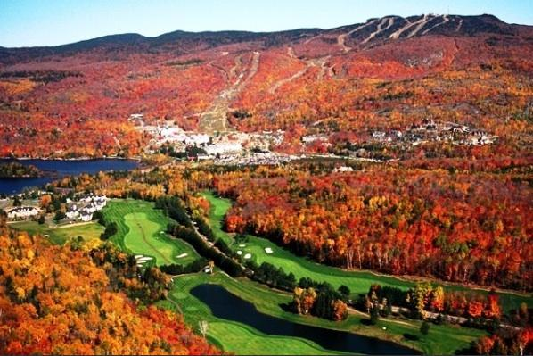 Tremblant Herbst golf