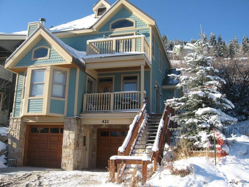 Park City's BEST location: Ski-in/Ski-Out Access and Steps to Main Street