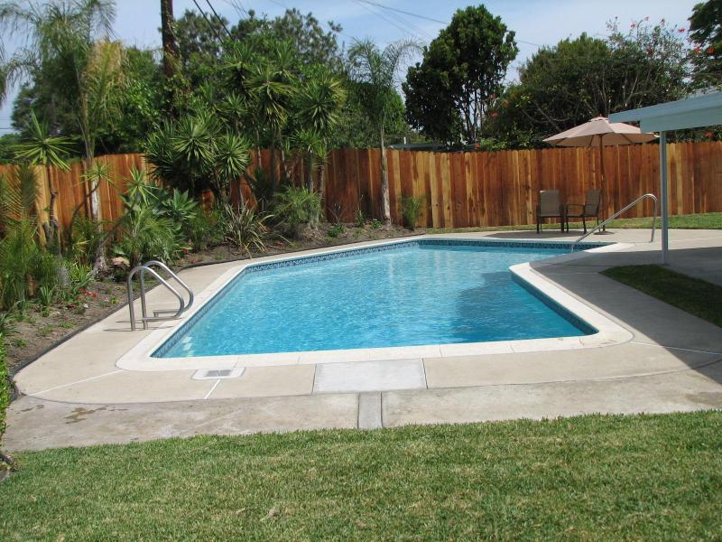 Private Heated Swimming Pool with Safety Fence (not pictured)