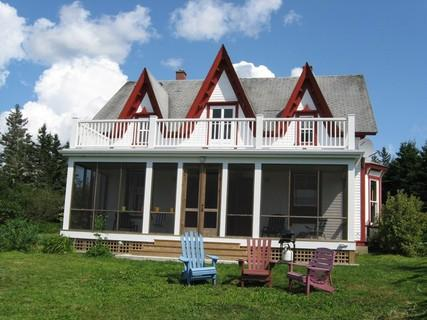 Peace and quite are guaranteed in this traditional Nova Scotia Farm House. On 20 acres of property, neighbours are few and far between.