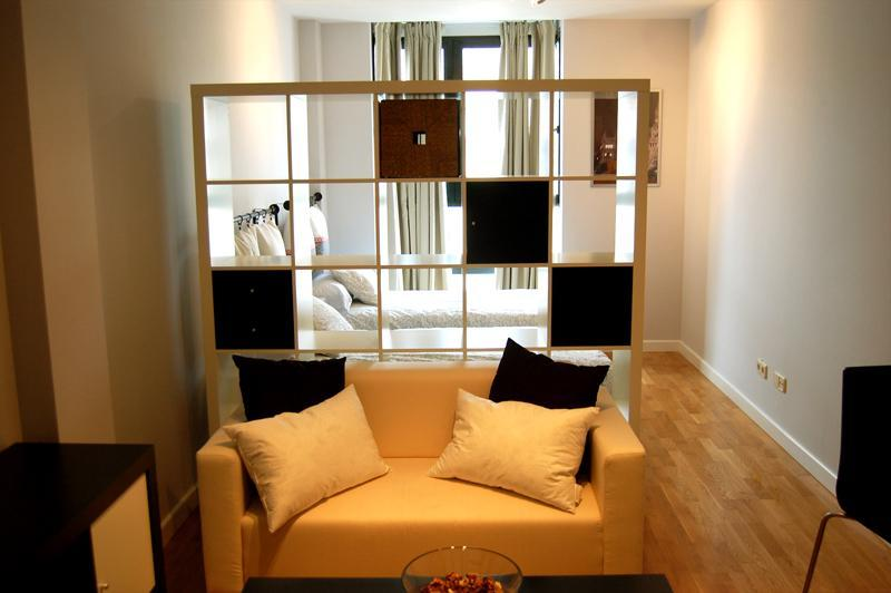 Living room - STUDY CASTELLANA 1C PARKING - Madrid - rentals