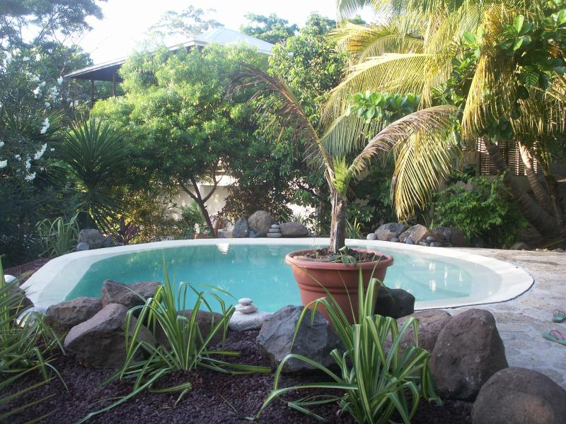 Secluded plunge pool
