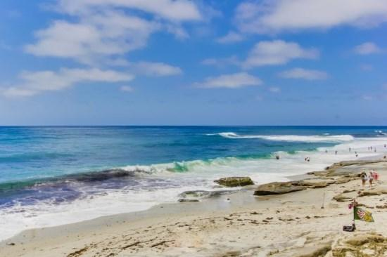 Relax in the white sand, surf Wind and Sea, or explore the rocky tide pools.