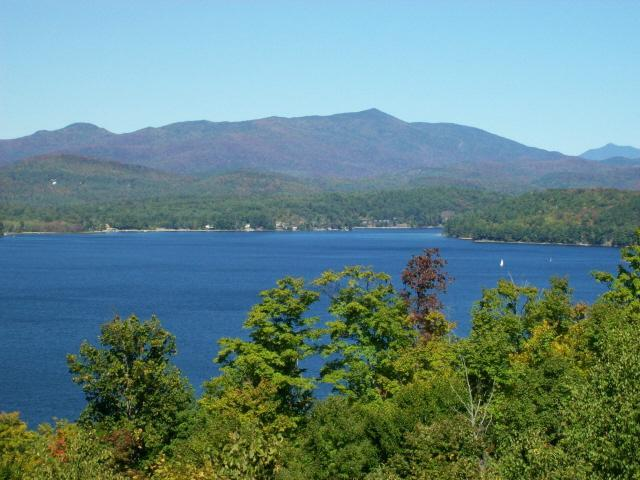 The view from every room in the house!  Breathe in the clean Adirondack air as you gaze at the Lake!