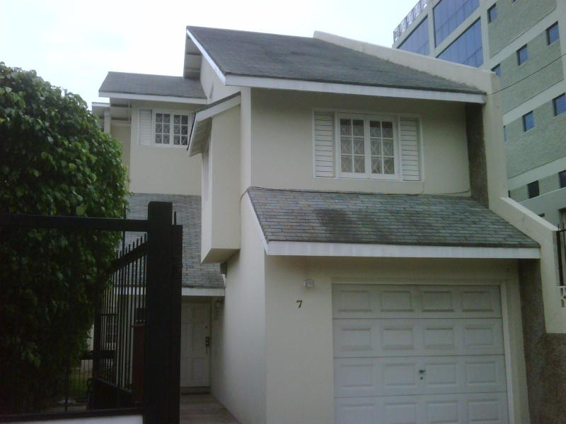 frontal view of premises