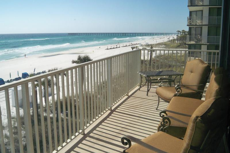 Enjoy endless gulf views from your private balcony