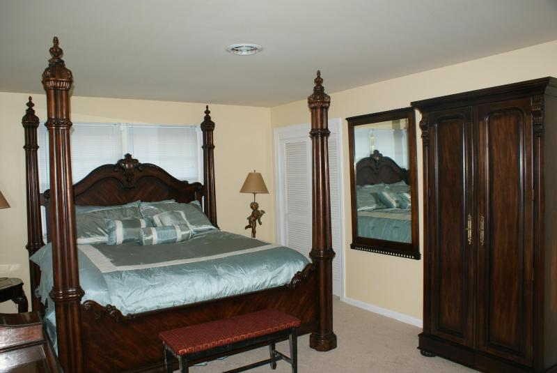 Step into luxury in the Master Bedroom