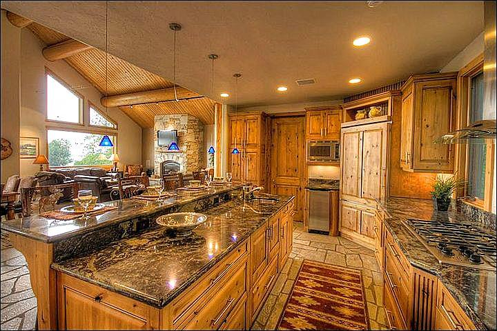 Gourmet Kitchen - Granite Counters, Quartzite Floors, Professional Viking Range, even an Ice Machine. - Incredible Quality, Great Views - Newly Furnished & Remodeled (10015) - Steamboat Springs - rentals