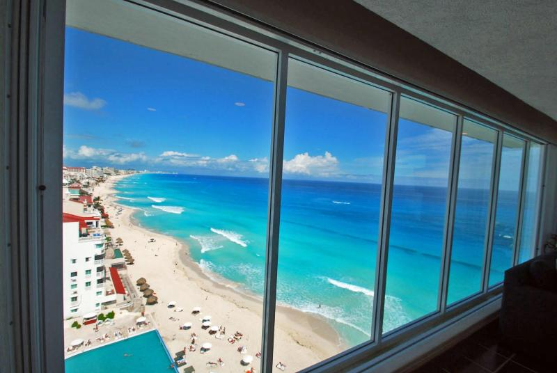 Welcome to our view of the most beautiful ocean in the world.
