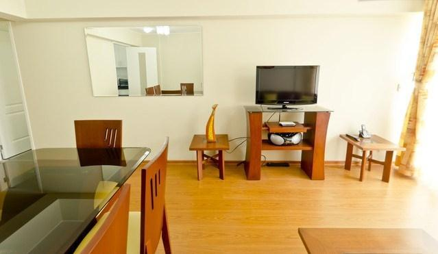 Living Area - Brand New 2 Bedroom Apt in Heart of Miraflores - Miraflores - rentals
