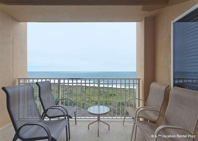 Fall in love with the ocean all over again from the balcony.