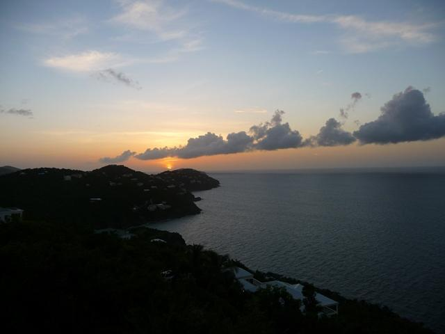 A TYPICAL SUNSET FROM THE BALCONY