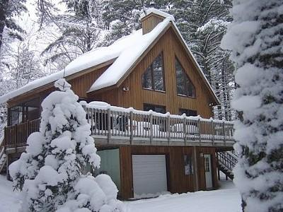 Ski or snowshoe out your front door!