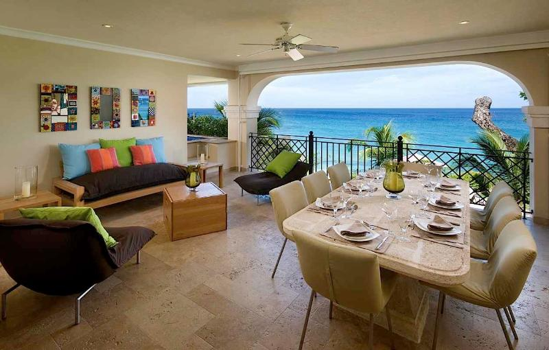 Sandy Cove #201 at St. James, Barbados - Beachfront, Gated Community, Communal Pool - Image 1 - Saint James - rentals
